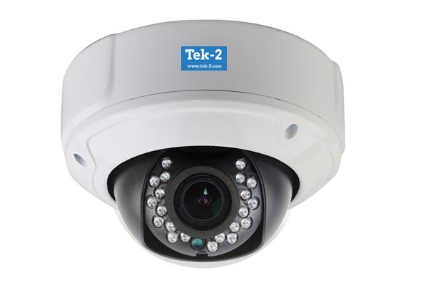 Tek-2 HD IP dome camera-branded